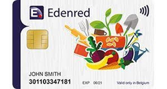 Beeld van Betaling EDENRED Electronische  eco-cheques